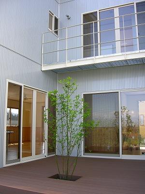 注文建築の家 北側外観