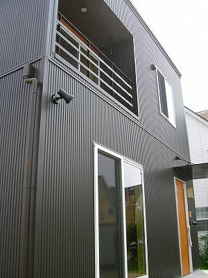 金属サイディングの外壁