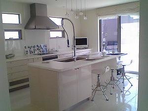 高級注文住宅 キッチン
